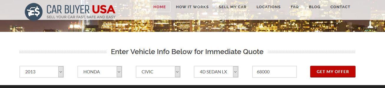 car buyer usa s instant cash offer beat kbb yes. Black Bedroom Furniture Sets. Home Design Ideas