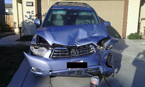 Car Buyer USA - Damaged 2010 Toyota Highlander