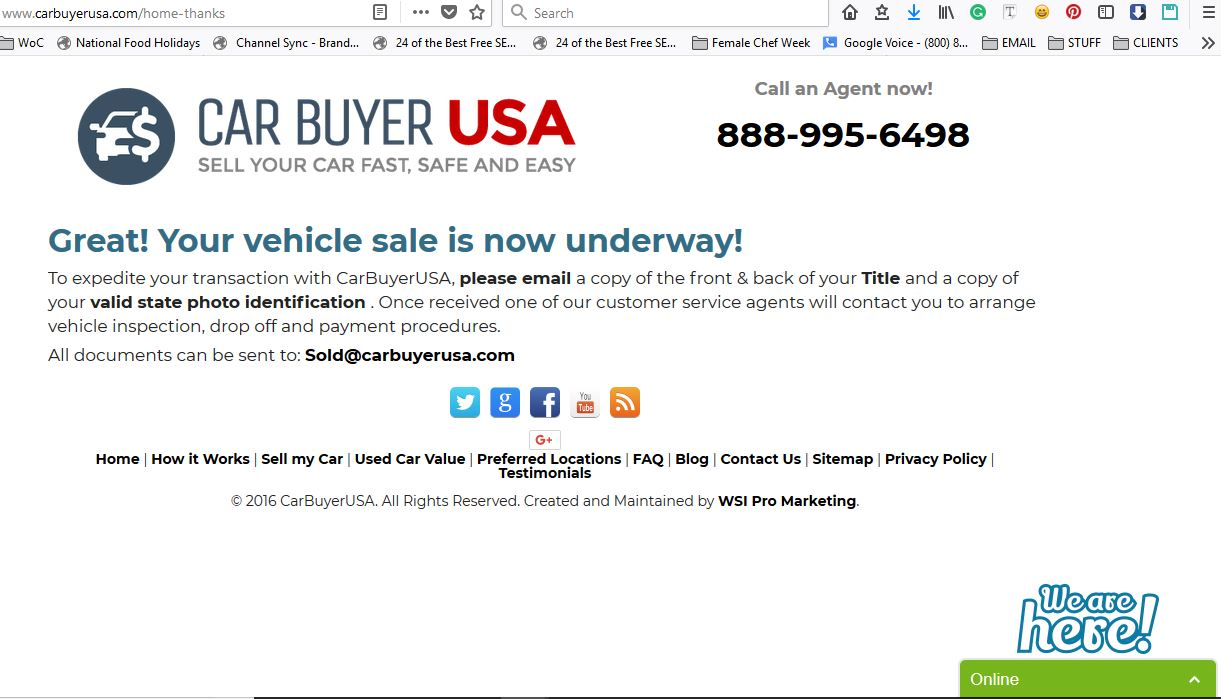 Car Buyer USA\'s INSTANT CASH OFFER BEAT KBB! YES!