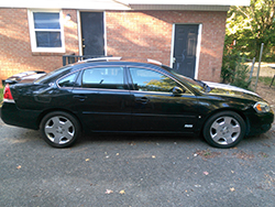 sell your car 2007 chevrolet impala v8 4d sedan ss in charlotte nc carbuyerusa. Black Bedroom Furniture Sets. Home Design Ideas