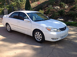 sell your car 2003 toyota camry 4c 4d sedan xle in arden nc carbuyerusa. Black Bedroom Furniture Sets. Home Design Ideas